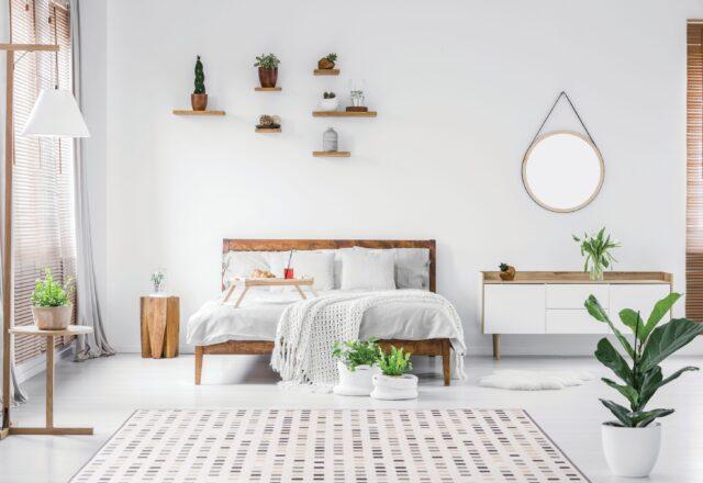 Dywan w jasnym pomieszczeniu